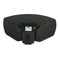 WMS-40B Altoparlante da musica con installazione a parete nero da 40W