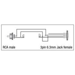 XGA05 - RCA/M > Jack/F