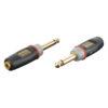 XGA11 - Jack/M mono > Mini Jack/F Inclusi 2 resistori da 10 kilo-Ohm