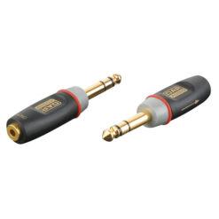 XGA12 - Jack/M stereo > Mini Jack/F Inclusi 2 resistori da 10 kilo-Ohm
