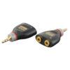 XGA16 - Mini Jack/M stereo > 2 x Mini Jack/F