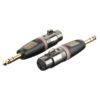 XGA24 - XLR/F 3p. > Jack/M stereo