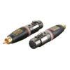 XGA31 - XLR/F 3p. > RCA/M
