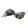 XGA40 - Mini Jack/M > 2 x Mini Jack/F Inclusi 2 resistori da 10 kilo-Ohm