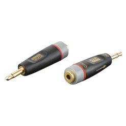 XGA43 - Mini Jack/M mono > Mini Jack/F Inclusi 2 resistori da 10 kilo-Ohm