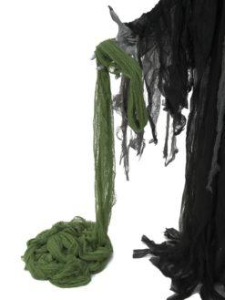 EUROPALMS Deco fabric, broad, green, 76x500cm