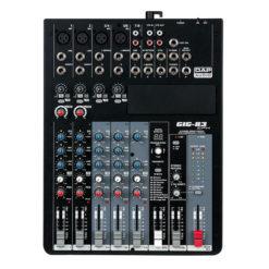 GIG-83CFX Mixer live a 8 canali, comprensivo di dinamiche e DSP
