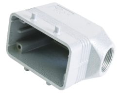 ILME Socket Casing for 10-pin, PG 16, angle