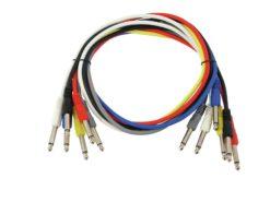 OMNITRONIC Jack cable 6.3 Patchcord mono 6x0.9m