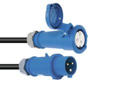 PSSO CEE Extension 32A 3x6 10m blue