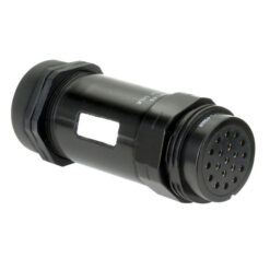 Socapex 19 Pin female cable connector PG29 IP67