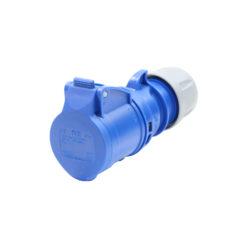16A 230V 2P+E Connector (213-6)