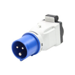 16A 230V 2P+E Plug to 13A Socket Adaptor(9433103)
