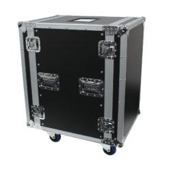 16U Rack Flight Case (with Wheels)