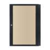 16U Smoked Polycarbonate Rack Door (R8450/16)