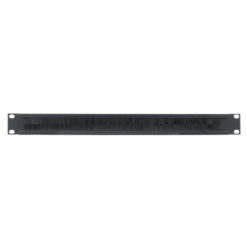 1U 19'' Cable Access Rack Panel (R1268/1UK-PBS)