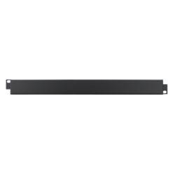 1U 19'' Plain Security Panel (R1287/1BK)