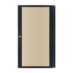20U Smoked Polycarbonate Rack Door (R8450/20)