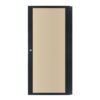 24U Smoked Polycarbonate Rack Door (R8450/24)