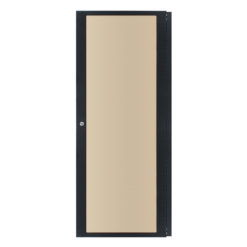 28U Smoked Polycarbonate Rack Door (R8450/28)