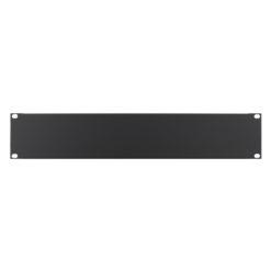 2U 19'' Plain Rack Panel (R1268/2UK)