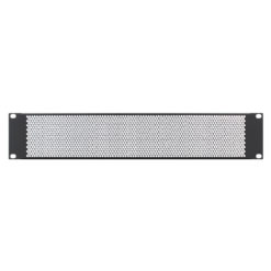 2U 19'' Vented Rack Panel (R1286/2UVK)