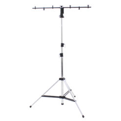 3 Section Chrome Lighting Stand