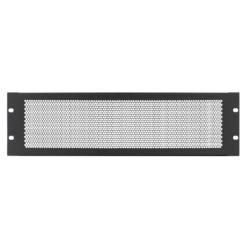 3U 19'' Vented Rack Panel (R1286/3UVK)