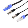 5m Combi 5-Pin DMX/PowerCON Cable Lead