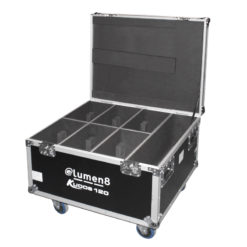 6 x Kudos CM 108/CM 120/CM 150 Flight Case