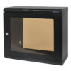 9U Shallow Wall Mount Rack Cabinet (R6025-M6-9UK)