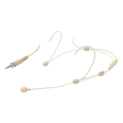 Adjustable Headset Mic - 3 Pole Mini XLR