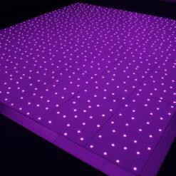 Black RGB Starlit Dance Floor System 14ft x 14ft