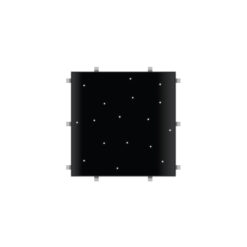 Black Starlit 2ft x 2ft Dance Floor Panel (4 sided)