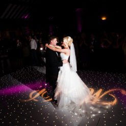 Black Starlit Dance Floor System 24ft x 24ft