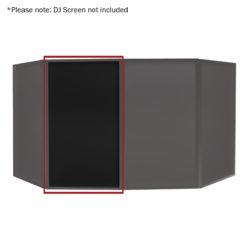 DJ Screen Black Replacement Lycra Cloth (Single)