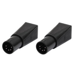 DMX 5-Pin Male to RJ45 Socket (Pack of 2)