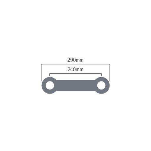 F32 PL 1.5m Z Brace (F32150PLZ)