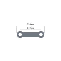 F32 PL 2.0m Z Brace (F32200PLZ)