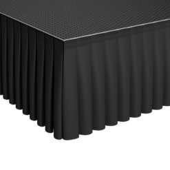 GT Stage Deck Polyester Skirt 80 x 105cm Pleated