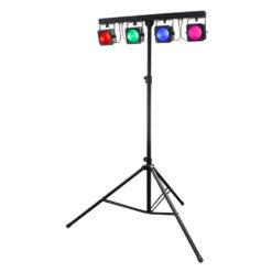 Gigabar MKII 4 x 30W RGB COB Bar System