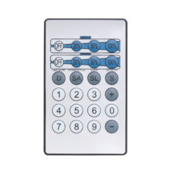 IR Remote for CW, WW and UV Fixtures