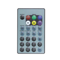 IR Remote for HEX Fixtures (RGBWAUV)