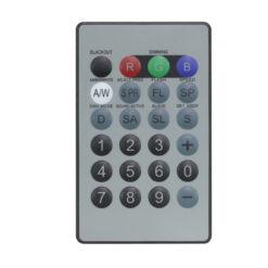 IR Remote for Quad Fixtures (RGBW/RGBA/RGBUV)