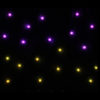 PRO 2 x 1m Tri LED Black Starcloth (Excludes Controller)