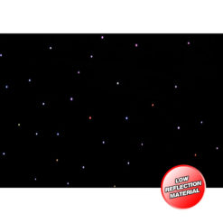 PRO 3 x 2m Tri LED Black Starcloth (Excludes Controller)