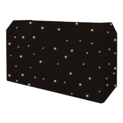 PRO DJ Booth LED Starcloth System, CW