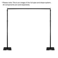 Pipe and Drape 1.3m - 2.1m Horizontal Cross Bar