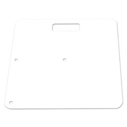 Pipe and Drape Base Plate (Requires Spigot), White