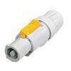 PowerCON B-type Cable Connector Grey NAC3FCB